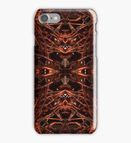 Painting Collage: Hell of 1000 paint-knife strokes iPhone Case/Skin