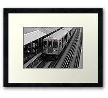 "Chicago ""L"" Framed Print"