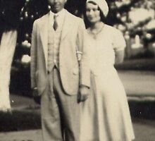 My Grandparents ~ Margaret & Red Roberts by NancyC
