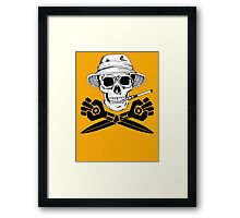 Jolly GONZO Framed Print