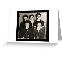 We Were Men - 1946 Greeting Card