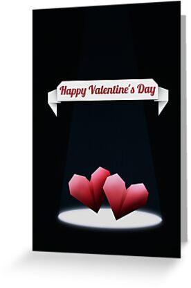 Origami Hearts by OkoLaa