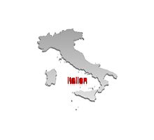 Map of Italy 4 by gruml