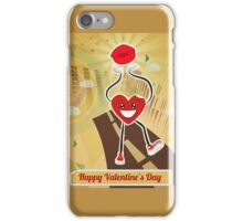 Walking Heart iPhone Case/Skin