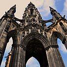 Sir Walter scott monument, Edinburgh. by Finbarr Reilly