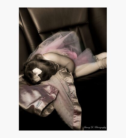 Sleepy in a Limo Photographic Print