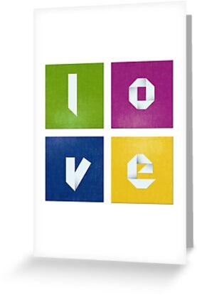 Colorful love by OkoLaa