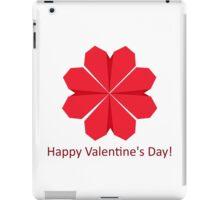 Heart shape flower iPad Case/Skin