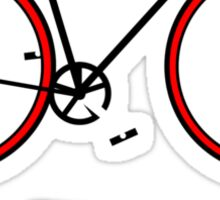 fixie. Sticker