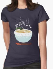 Good ol' bowl of Ramen Womens Fitted T-Shirt