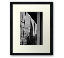 The steeple, Sydney Framed Print