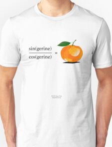 Maths Geek Joke - Tangerine T-Shirt