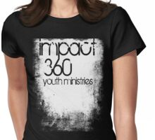 impact 360 youth in white Womens Fitted T-Shirt