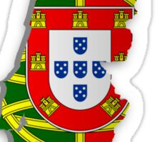 Map of Portugal 2 Sticker