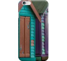 Colourful Bathing Boxes iPhone Case/Skin