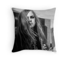 Model Federation Square Throw Pillow
