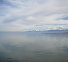 CLOUDS - Lake Geneva by Marilyn Grimble