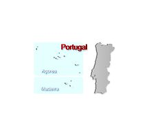 Map of Portugal 1.5 by gruml