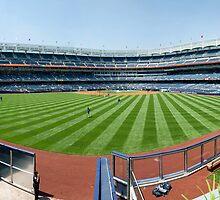 Yankee Stadium by Gary Lengyel