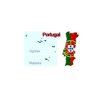 Map of Portugal 2.5 by gruml