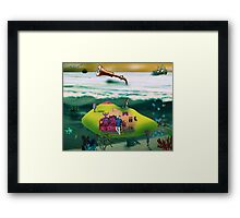 A Yellow Submarine Framed Print