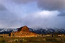 Moulton Barn, Mormon Row - Teton Sunrise by Stephen Beattie