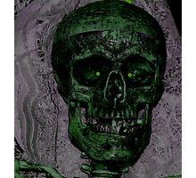 b movie skeleton Photographic Print