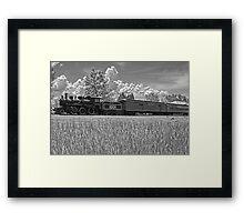 Grand Trunk Locomotive, Chrysler Park, Ontario, Canada Framed Print