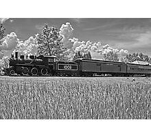 Grand Trunk Locomotive, Chrysler Park, Ontario, Canada Photographic Print