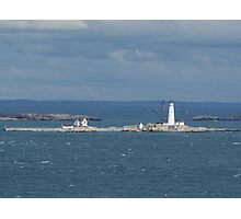 Boston and Graves Lighthouses Photographic Print