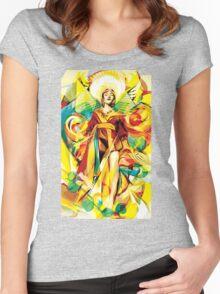 Golden Princess Women's Fitted Scoop T-Shirt