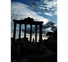 collosal. roma, italia Photographic Print