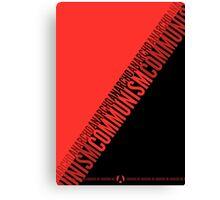 Anarcho-communism Canvas Print