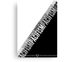 Anarcho-pacifism Canvas Print