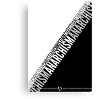 Christian Anarchism Canvas Print