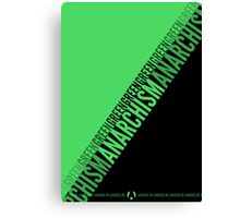 Green Anarchism Canvas Print