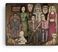 modern family Canvas Print