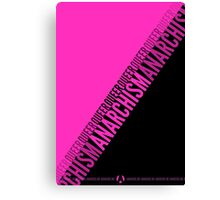 Queer Anarchism Canvas Print
