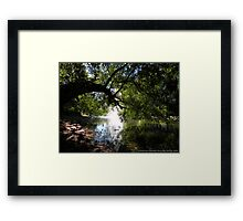 Cool Sanctuary Framed Print