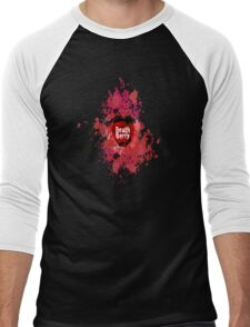 Death Berry Splat Men's Baseball ¾ T-Shirt