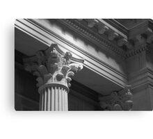 Architectural Detail - Franklin Institute - Philadelphia, Pennsylvania Canvas Print