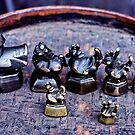 Opium weights by John Spies