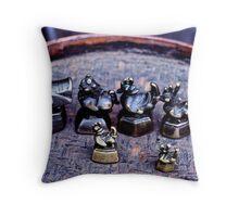 Opium weights Throw Pillow