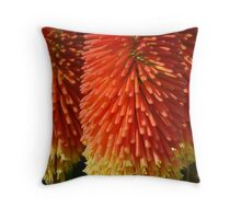 Aloes Flowers Throw Pillow