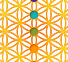 FLOWER OF LIFE, CHAKRAS, SPIRITUALITY, YOGA, ZEN,  Sticker