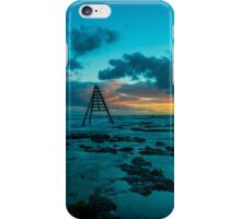Sunset over the Rocks iPhone Case/Skin