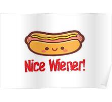 Nice Wiener Poster