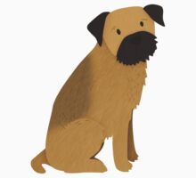 Border Terrier by Claire Stamper