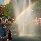 Rainbow struck by Farras Abdelnour