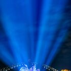 Lighting the Sails - Sydney Opera House by Erik Schlogl